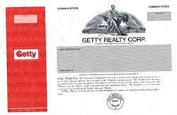 Getty Realty Corp. - Maryland