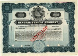 General Vehicle Company - New York 1913