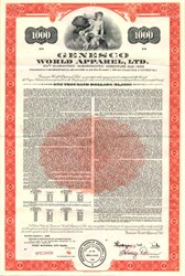 Genesco World Apparel, Ltd. - 1968
