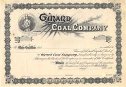 Girard Coal Company - Pennsylvania 1890's