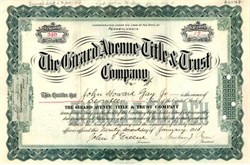 Girard Avenue Title & Trust Company - Pennsylvania