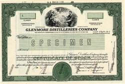 Glenmore Distilleries Company (Old Kentucky Tavern Bourbon)  - Delaware 1989