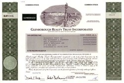 Glenborough Realty Trust Incorporated - WTC Vignette