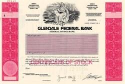 Glendale Federal Bank (aka Glendale Federal Savings) - California
