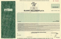 Glaxo Holdings P.L.C. - England 1987