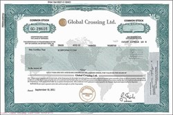 Global Crossing, Ltd. - Bankrupt and was under Investigation by the SEC and FBI