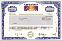Globalstar Telecommunications - Satellite Phone Company - 2002