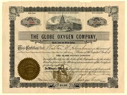 Globe Oxygen Company - South Dakota 1906