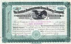 Gottlieb-Bauernschmidt-Straus Brewing Company - 1911