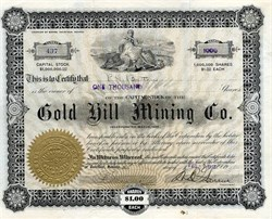 Gold Hill Mining Company - Goldfield, Nevada 1907