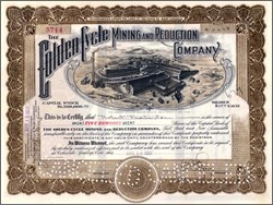 Golden Cycle Mining (Largest Cyanide Mill in the United States ) - Cripple Creek District  1918