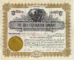 Gold Exploration Company - Denver, Colorado 1900