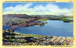 Golden Gate Bridge Entrance, San Francisco