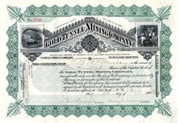 Gold Tunnel Mining Company  - Nevada City, California - 1903