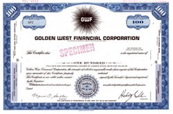 Golden West Financial Corporation - California