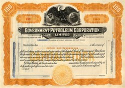 Government Petroleum Corporation, Limited - California