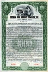 Gotham Silk Hosiery Company - Delaware 1936