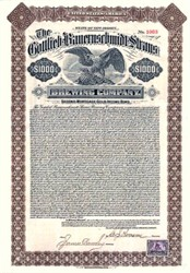 Gottlieb-Bauernschmidt-Straus Brewing Company 1901 - ( Became Globe Brewing )