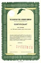 Goodyear Tire & Rubber Company - Amsterdam 1960