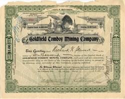 Goldfield Tomboy Mining Company - Goldfield, Nevada 1909