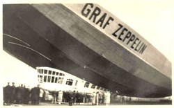 Graf Zeppelin Photo Postcard