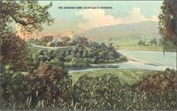 Graham Home Near Santa Barbara Postcard