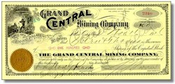 Grand Central Mining Company - Colorado