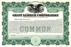 Grant Leather Corporation - Virginia