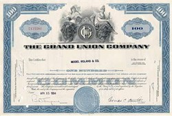 Grand Union Company - Supermarket Chain