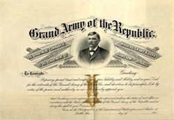 Grand Army of the Republic Washington and Alaska -  Seattle, Washington 1890's
