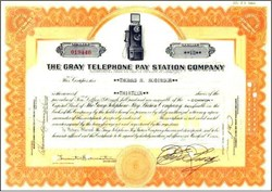 Gray Telephone Pay Station Company - Earliest Known Pay Phone 1936