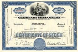Granite City Steel Company - Delaware 1967