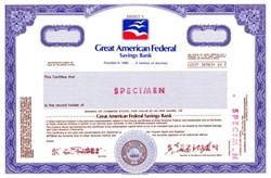 Great American Federal Savings Bank
