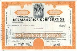 GreatAmerica Corporation - Nevada 1964