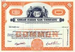 Great Falls Gas Company - Montana ( Now ENERGY WEST )