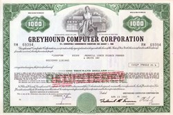 Greyhound Computer Corporation - Old Computer Vignette