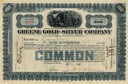 Greene Gold Silver Company -  Temosachic, Chihuahua Mexico 1906