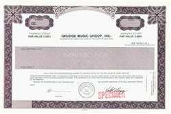 Grudge Music Group, Inc. - New York