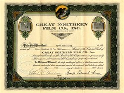 Great Nothern Film Co., Inc. - Oregon 1924