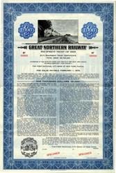 Great Northern Railway Equipment Trust  - New York 1958