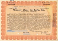 Grocery Store Products, Inc.