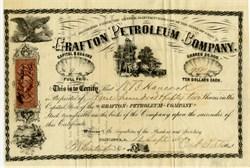 Grafton Petroleum Company - Columbus Ohio 1867