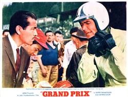 Grand Prix Lobby Card starring Toshiro Mifune and James Garner