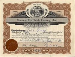 Gramalco Real Estate Company, Inc. - New York 1928