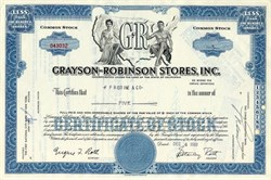 Grayson-Robinson Stores, Inc. - California 1961