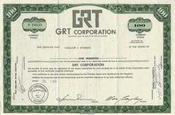 GRT Corporation (Janus Record Company)  - California 1970