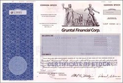 Gruntal Financial Investment Company - WTC Vignette - Scandal and 9/11 Casualty