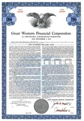 Great Western Financial Corporation - 1959