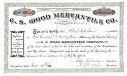 G.S. Wood Mercantile Co. 1906 - Springville, Utah