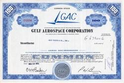 Gulf Aerospace Corporation (GAC) - Delaware 1972